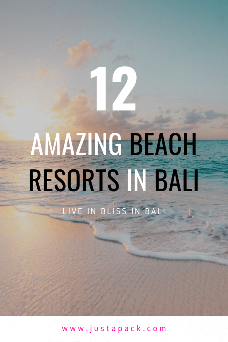 Visiting Bali? Then you're probably looking for an amazing beach resort in Bali. Here are 12 of the very best! Have a look, find the one that's the best for you and get ready to soak up some sun and fun!