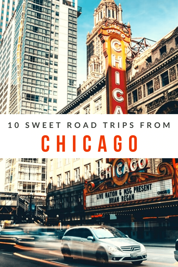 What Are the Best Road Trips from Chicago? If you're visiting the Windy City then you'll have no issue finding awesome things to do in Chicago. But, what about the surrounding area? There's lots to do there too. Here are the best road trips to take from Chicago!