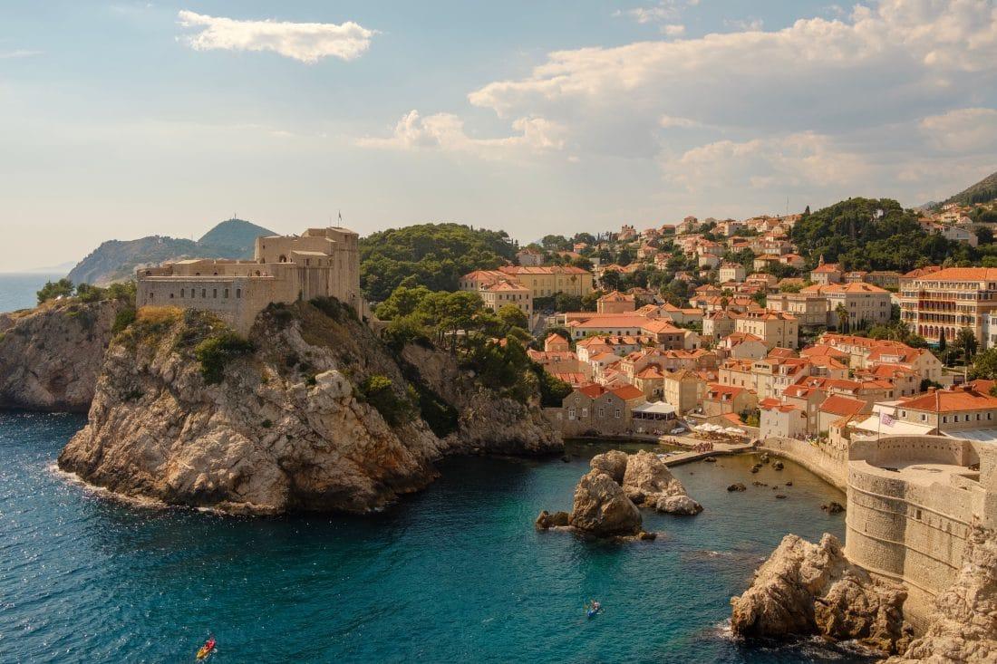 view of a Hvar in croatia