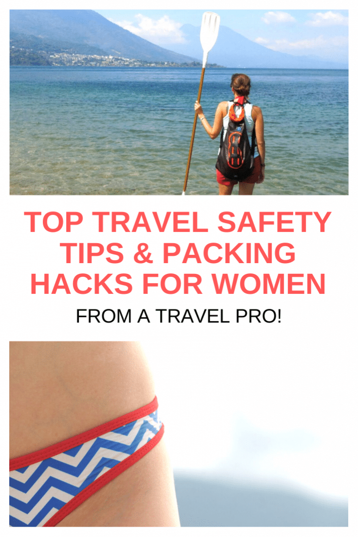 Women are owning travel lately, especially solo travel! Here are my best safety travel tips for women. Plus, some essential packing hacks for female travelers!