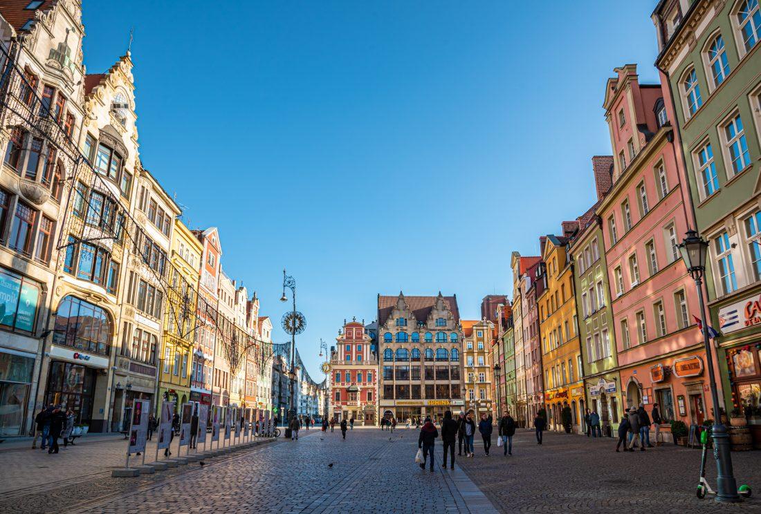 wroclaw market square rynek 1