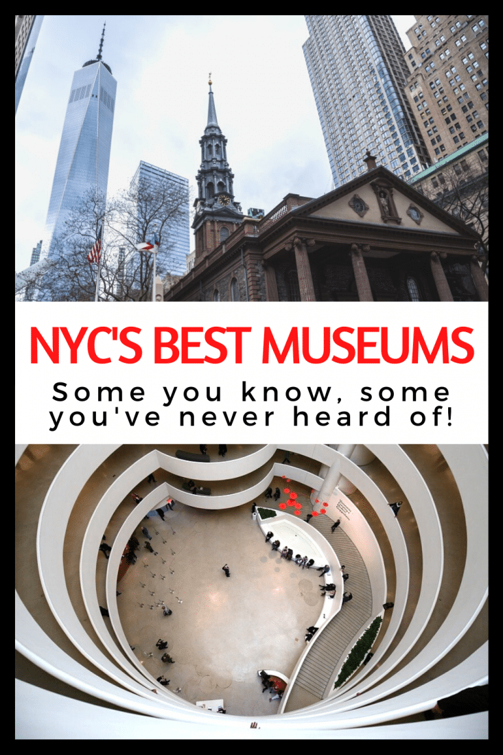 New York City is FULL of some of the best museums in the world. So, how do you choose just a few to add to your things to do in NYC list? Well, start by reading our article! Here are the best museums in NYC!