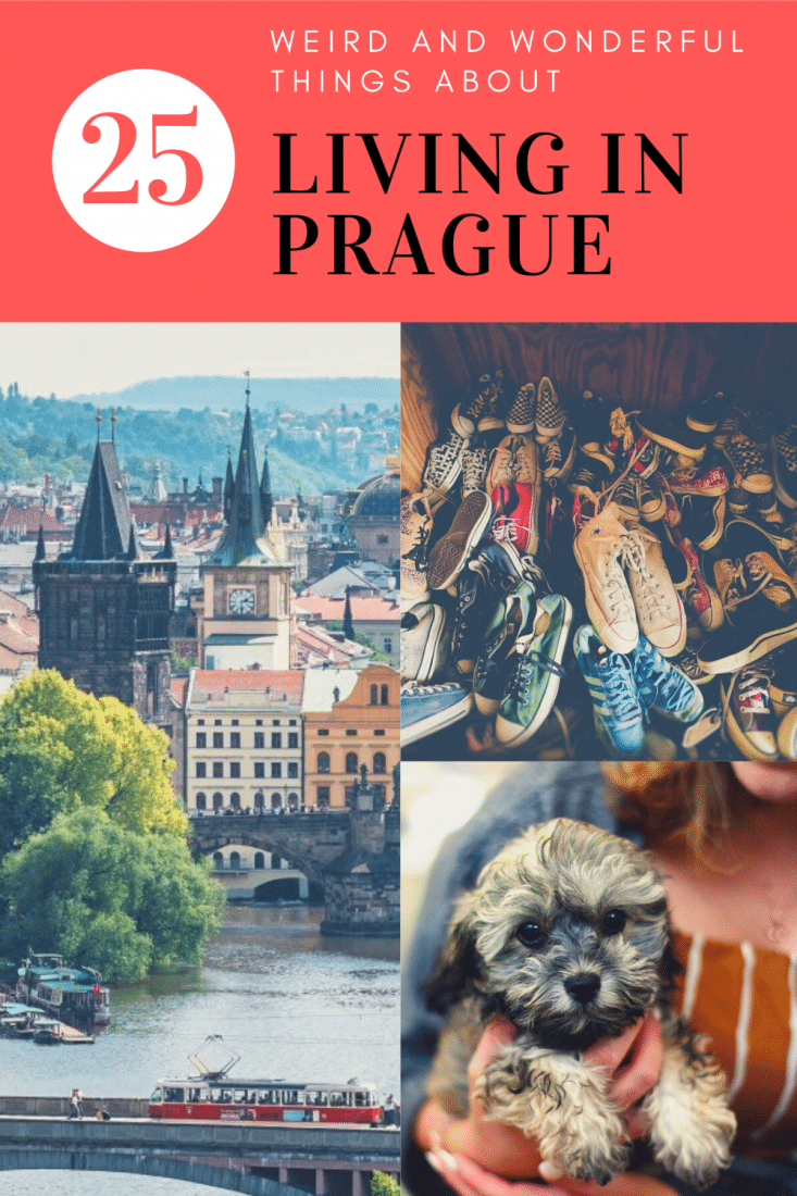 25 weird and wonderful things about living in Prague. We're from the States but have been living in Prague for years. Here are 25 things we've notice that are very very different! #prague