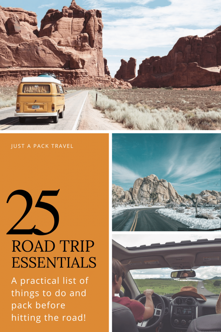 Road trips are amazing, and there's no better place to take one than the United States. But don't set out before doing and packing everything on this list of road trip essentials!