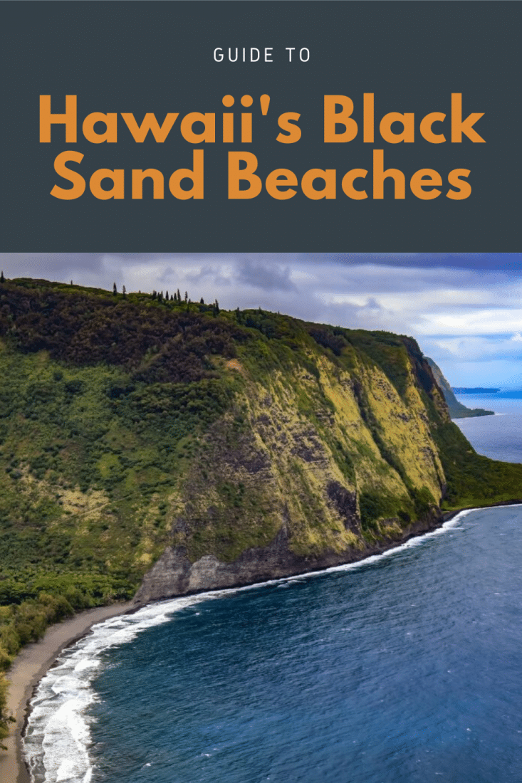 If you're planning a trip to Hawaii's black sand beaches this guide's for you! These beaches are magical, beautiful, and a unique sight to behold. So, don't miss out! Visit the black sand beaches on this list and you won't be disappointed!
