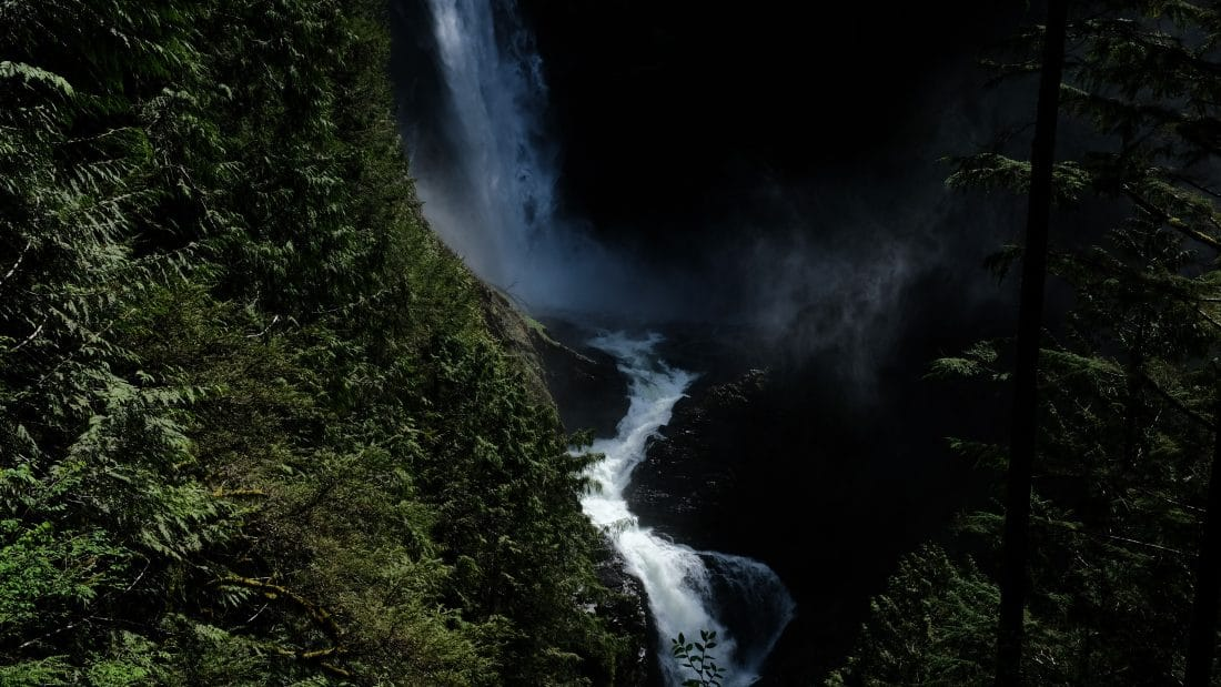 A view of Wallace Falls in Washington State
