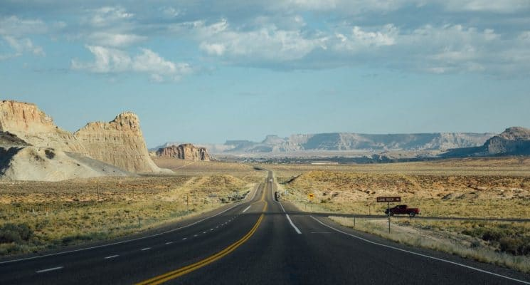 a highway in Utah, USA - the best utah road trips