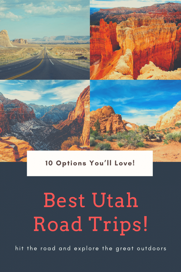 Looking for the best UTAH ROAD TRIPS? Then this article is for you! Hit the road and explore the stunning state on one of these 10 awesome Utah road trips!