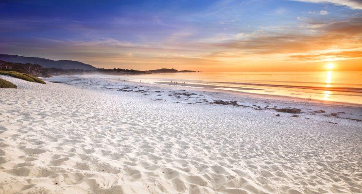 Carmel Beach in Carmel by the Sea