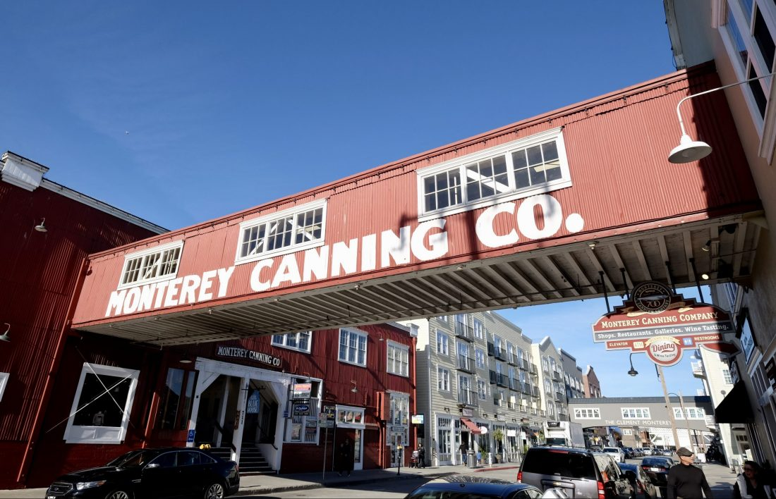 a building on Monterey's historic Cannery Row