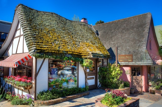 one of Carmel's many fairy tale like cottages