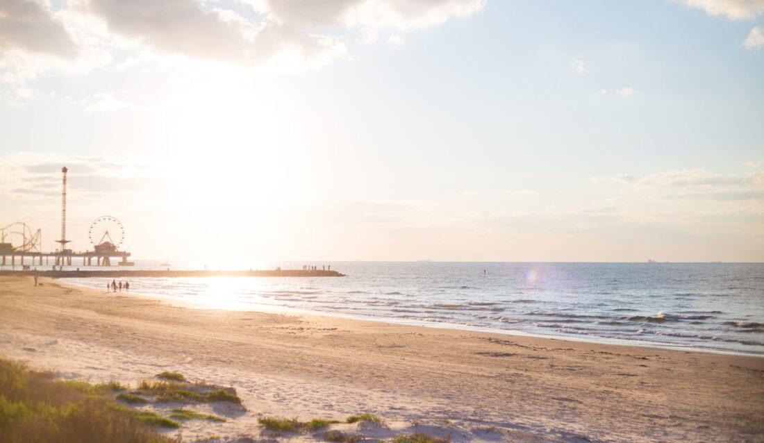 best beaches in Galveston texas